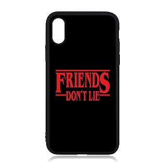 iPhone X / XS Shell mit Freinds don't Lie Fremde Dinge inspiriert