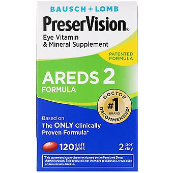 Bausch & Lomb, PreserVision, AREDS 2 Formula, Eye Vitamin & Mineral Supplement,