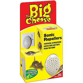 The Big Cheese Sonic Mouse & Rat Repeller (3 Pack)