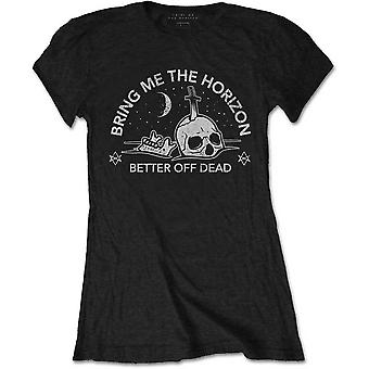 Ladies Bring Me The Horizon Happy Song Official Tee T-Shirt Female