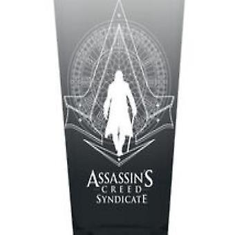Pint Glass - Assassins Creed - Syndicate Grey 16oz New gls-ac-grey