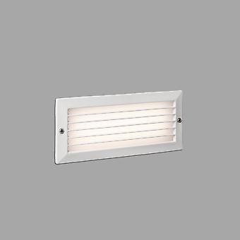 Faro Stripe-1 - Extérieur LED Recessed Wall Light White 5W 3000K IP54