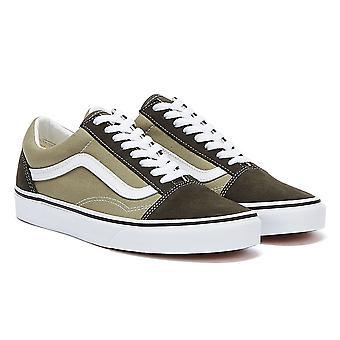 Vans Old Skool Mens Dark Grey / Taupe Trainers