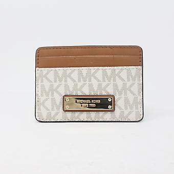 Michael Kors Money Pieces Card Holder Vanilla / New Without Box