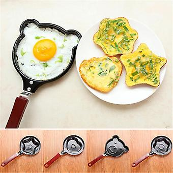 Nonstick Cute Shaped Egg Mold Pans - Mini Breakfast Egg Baking Pans