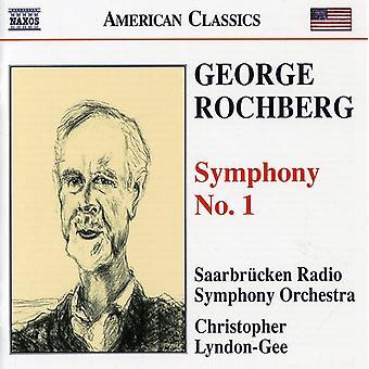 G. Rochberg - George Rochberg: Symphony No. 1 [CD] USA import