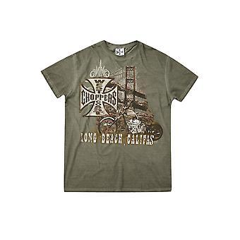 West Coast Choppers Men's T-Shirt Bridge