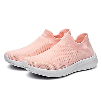 Scarpe da ginnastica da donna Slip-On Breathable Soft Elastic Casual Scarpe