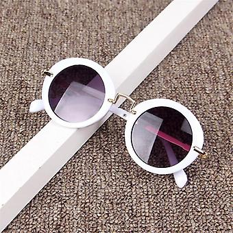 Kids  Retro Anti-round Sunglasses Frame
