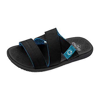 Mens Cartago Sandals Barcelona Slide Beach Flip Flops  - Black