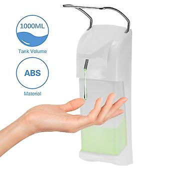 1000ml Elbow Soap Dispenser, Soap Lotion Pump Manual Type Sope Dispenser Elbow
