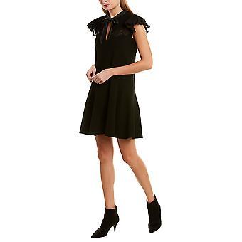 Rebecca Taylor | Crepe Lace Shift Dress