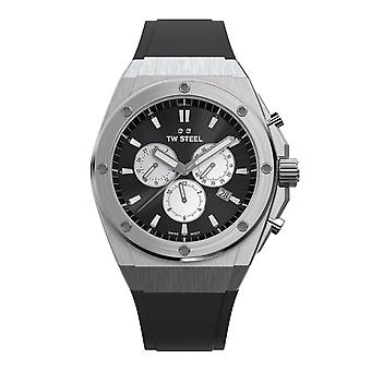 TW Steel TWCE4041 Ceo Tech Grey Dial Chronograph Polshorloge