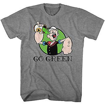 Popeye Go Grøn T-shirt