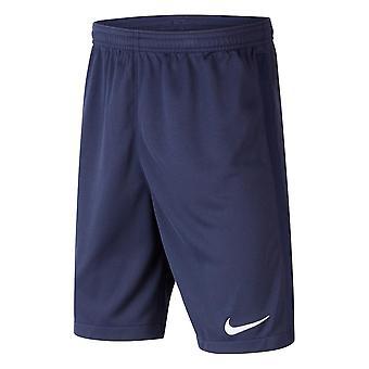 2020-2021 France Nike Home Shorts (Navy) - Kids