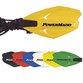 Powermadd 34285 Power X Series Handguards Yellow/No Mount