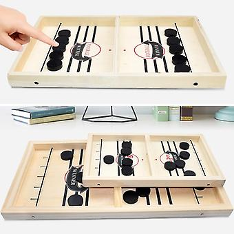 Table Fast Hockey Sling Puck Game For Party, Family Home Board Game