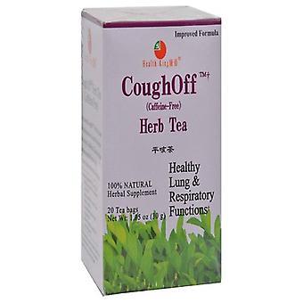 Health King Cough Off Tea, 20bg