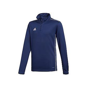 Adidas JR Core 18 CV4139 evrensel tüm yıl erkek sweatshirt