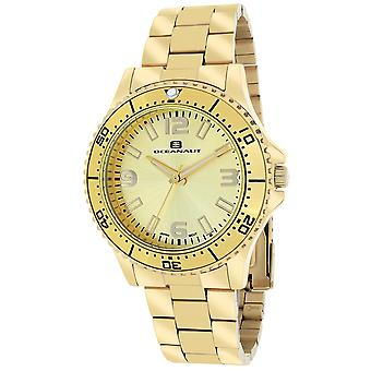 Oceanaut Women's Camara Gold tone Dial Watch - OC9812