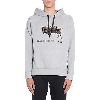 Lanvin Rmje0053a1813 Men's Grey Cotton Sweatshirt