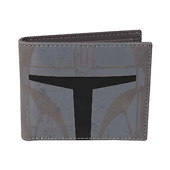 Mandalorian Wallet Bounty Hunter Armour new Official Grey Bifold