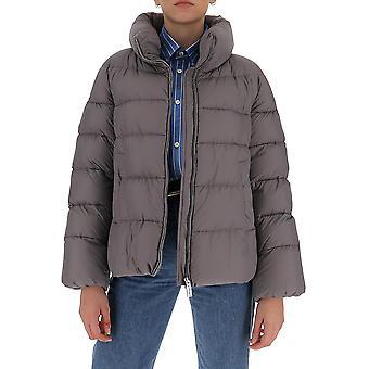 Aggiungi 2aw3012310 Women's Grey Nylon Down Jacket