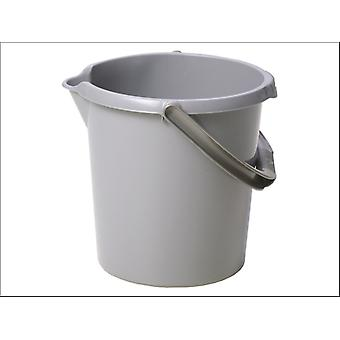 What More Deluxe Bucket Silver 10L 11580