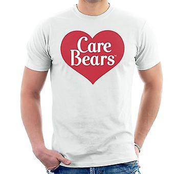 Care Bears Love Heart Logo Miesten't-paita
