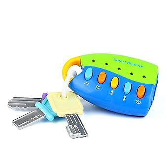 Baby Musical Car Key Remote Control Light Music For Educational Play
