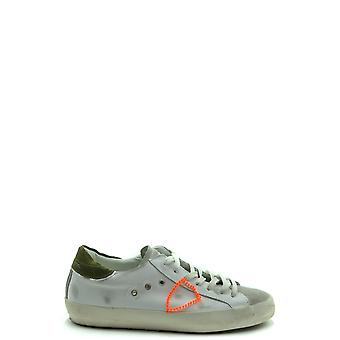 Philippe Model Ezbc019079 Men's White Leather Sneakers