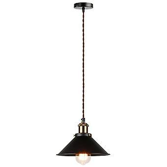 Industrial Pendant Light, Edison Lighting, Vintage Light, Metal Handing Lamp,