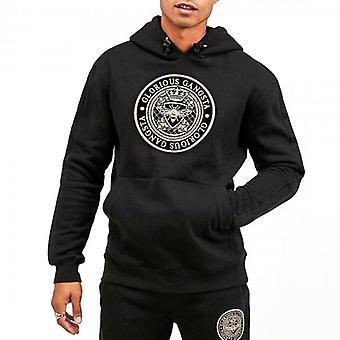 Glorious Gangsta Berto Black Over-Head Hoody Sweatshirt