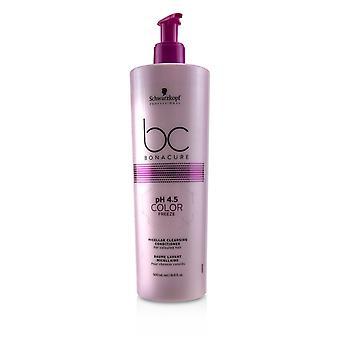 Bc bonacure p h 4.5 Farbe Gefrieren micellar Reinigungsmittel (für farbiges Haar) 234820 500ml/16.9oz