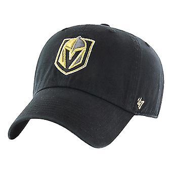 47 Brand NHL Vegas Golden Knights Clean Up Cap - Black