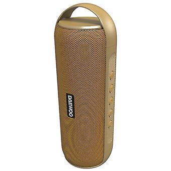 Portable Bluetooth Speakers Daewoo DBT-20 12W Golden