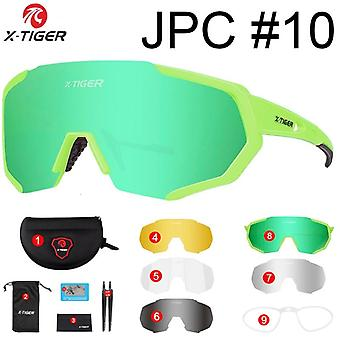 X-tiger Polarized 5 Lens Cycling Glasses Road Bike Cycling Eyewear Cycling