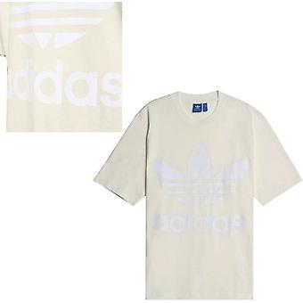 Adidas Originals AC Boxy Erkek Büyük Boy Tee Tişört Üstü Kapalı Beyaz CE6337 A95B