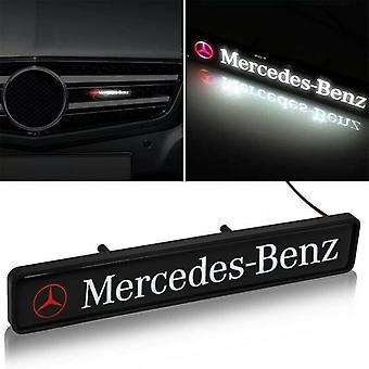 MERCEDES BENZ Front Grille Badge Led Light Luminous Universal A CLASS C CLASS E CLASS S CLASS