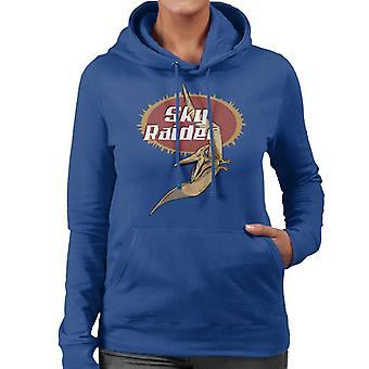 Jurassic Park Sky Raider Frauen's Kapuzen Sweatshirt