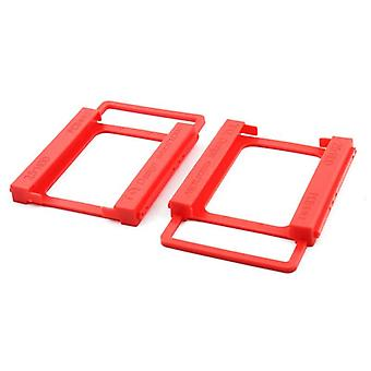 2.5 To 3.5 Inch Plastics Hard Disk Drive Mounting Bracket Adapter Sata3.0 Cable