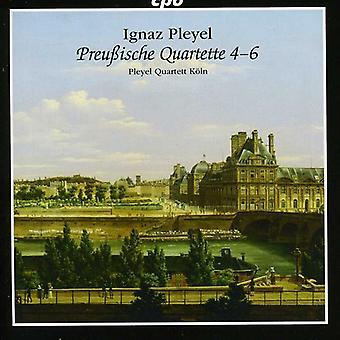 I. Pleyel - Ignaz Pleyel: Prussian Quartets, Nos. 4-6 [CD] USA import
