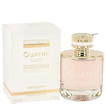Quatre Eau De Parfum Spray por Boucheron 3.3 oz Eau De Parfum Spray