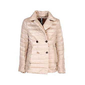 Violanti Via1025000501 Women's Beige Nylon Down Jacket