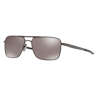 Oakley Gauge 6 Titaani OO6038 06 Pewter /Polarisoitu Prizm Musta Aurinkolasit
