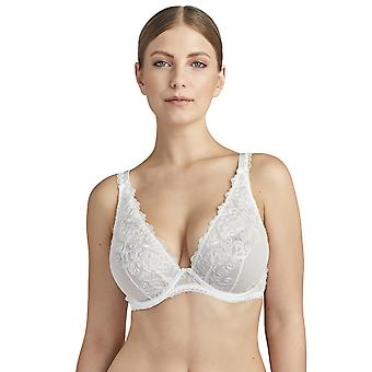 Aubade Pour Toujours TC12-02 Women's Opal Embroidered Non-Padded Underwired Comfort Triangle Bra