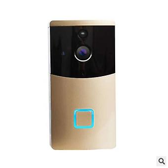 Беспроводной Wi-Fi HD удаленный мониторинг Smart PIR IR Ночное зрение Облако хранения видео дверной звонок для
