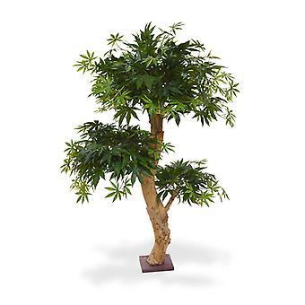 Kunst Acer Bonsai boom 95 cm groen