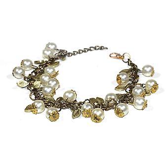 Blooming Pearls Bracelet