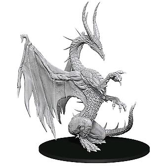 Pathfinder Deep Cuts Unpainted Miniatures: Blue Dragon